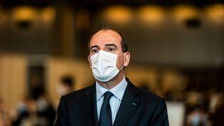 Le Premier ministre, Jean Castex, le 15 mai 2021 à Paris. (XOSE BOUZAS / HANS LUCAS / AFP)