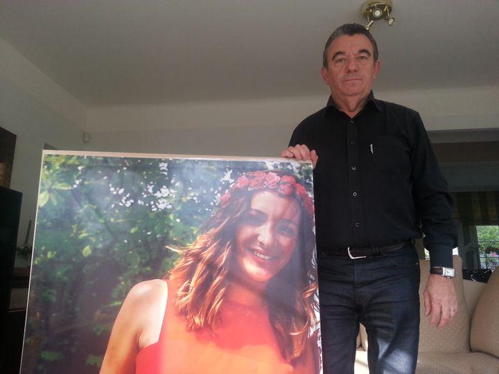 (Rémi Baudin, le père de Margaux, 24 ans, qui s'est suicidée le 3 mars dernier © RF/ Sébastien Baer)