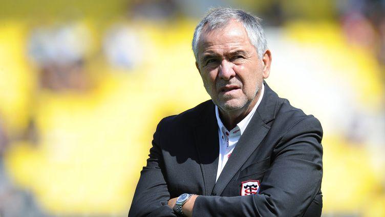 Jean-René Bouscatel, le président du Stade Toulousain (XAVIER LEOTY / AFP)