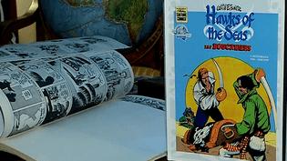 """La nouvelle version de""""Hawks of the seas"""" de Will Eisner est éditée avec ses huit pages retrouvées par le spécialiste JeanDepelley  (France 3 / Culturebox)"""