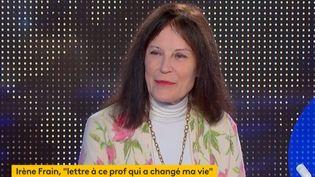 Irène Frain (Capture d'écran franceinfo)