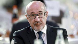 Francis Kalifat,président duConseil représentatif des institutions juives de France (CRIF), le 20 juin 2017. (BENJAMIN CREMEL / AFP)