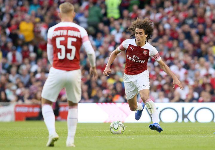le jeune Matteo Guendouzi d'Arsenal (PAUL FAITH / AFP)