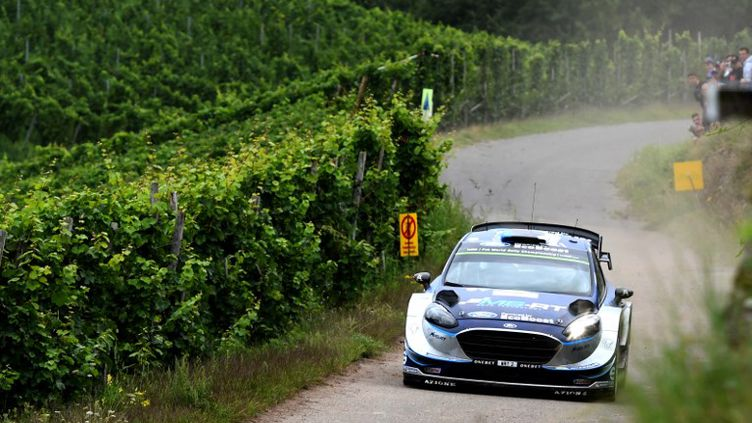 L'Estonien Ott Tänak (M-Sport/Ford) (PATRIK STOLLARZ / AFP)