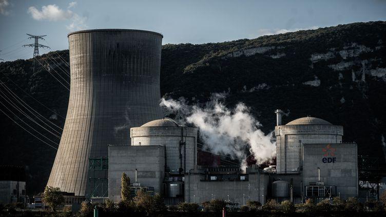 La centrale nucléaire de Cruas en Ardèche, le 12 novembre 2019. (JEFF PACHOUD / AFP)