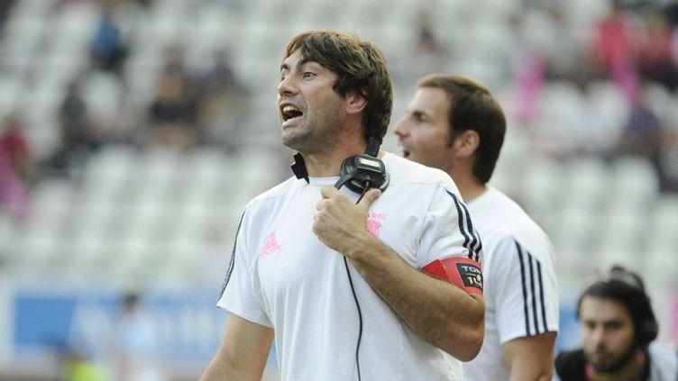 Jeff Dubois, adjoint de Gonzalo Quesada au Stade Français, et futur adjoint de Guy Novès en équipe de France (JEAN MARIE HERVIO / DPPI MEDIA)