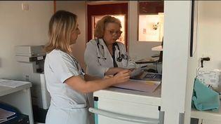 À Pontivy dans le Morbihan, le centre hospitalier du Centre-Bretagne a réalisé un clip pour promouvoir le site et attirer de nouveaux professionnels. (FRANCE 3)