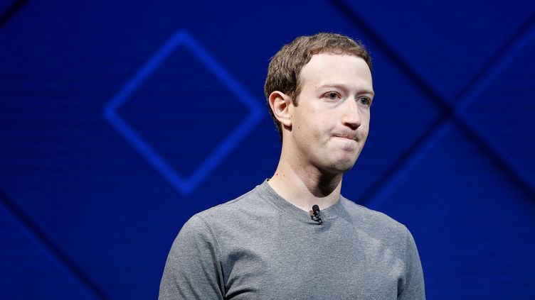 Le PDG de Facebook, Mark Zuckerberg, à la conférence annuelle du réseau social, le 18 avril 2017 à San Jose (Californie, Etats-Unis). (STEPHEN LAM / REUTERS)