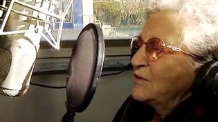 Madeleine Le Breton enregistre  (France 3 / Culturebox)