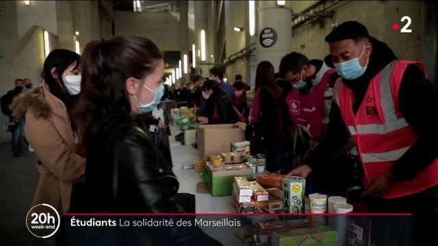 Solidarité : à Marseille, les Restos du Cœur aux petits soins avec les étudiants