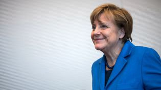 La chancelière Angela Merkel en mars 2015  (BERND VON JUTRCZENKA / DPA / dpa Picture-Alliance)