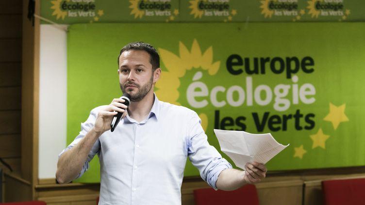 David Belliard, candidat EELV à la mairie de Paris, en juin 2019. (VINCENT ISORE / MAXPPP)