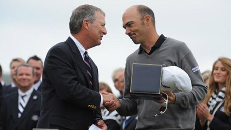 Grégory Havret doit se contenter du trophée du 2e à l'US Open