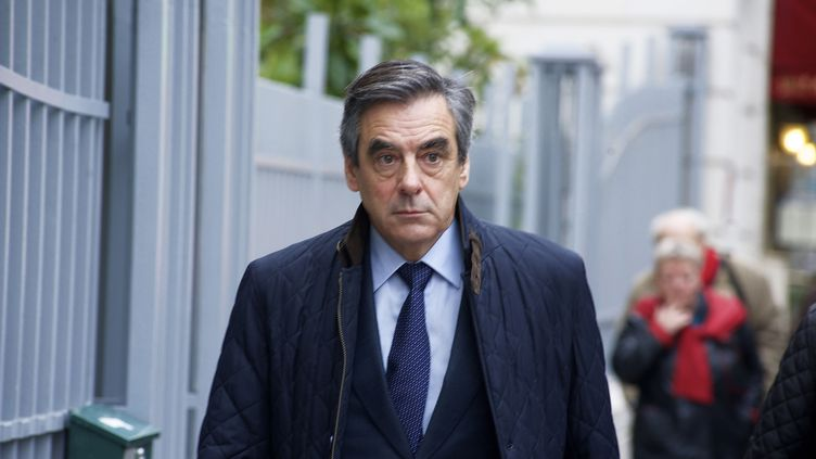 François Fillon, le 22 novembre 2016 à Paris. (CITIZENSIDE / PATRICE PIERROT / AFP)