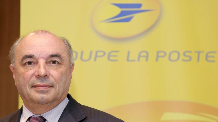 Jean-Paul Bailly, le 11 mars 2010. (ERIC PIERMONT / AFP)