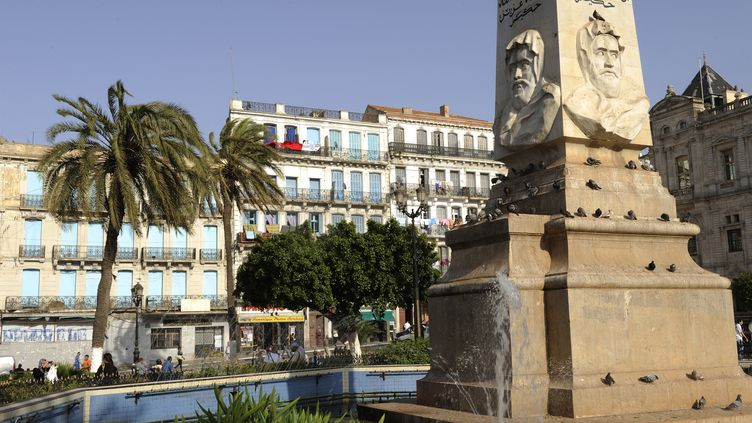 Monument de l'émir Abdelkader, à Oran, le 6 mars 2010. (FR?D?RIC SOREAU / PHOTONONSTOP)