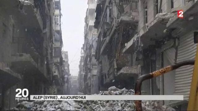Alep : au cœur des évacuations