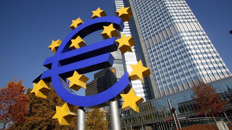 Siège de la Banque centrale européenne à Francfort (Allemagne). (MEIGNEUX / SIPA)