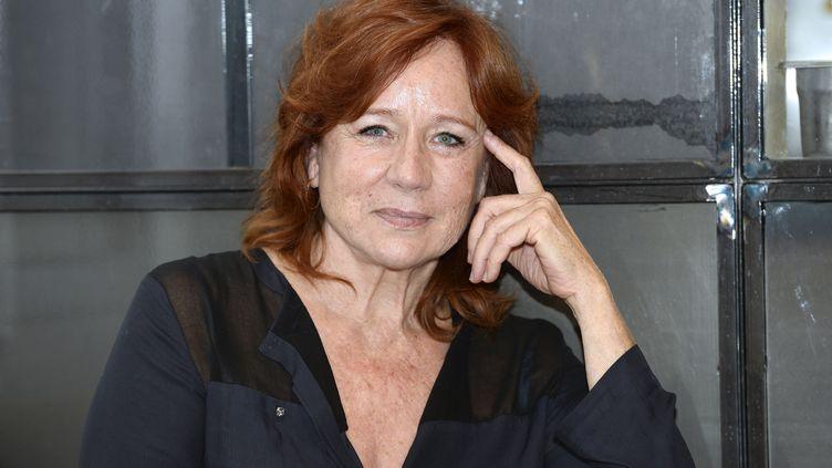 L'actrice Éva Darlan en 2014. (BERTRAND GUAY / AFP)