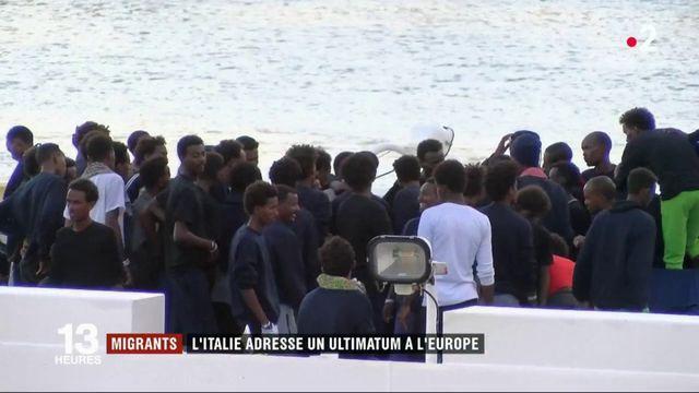 Migrants : l'Italie adresse un ultimatum à l'Europe