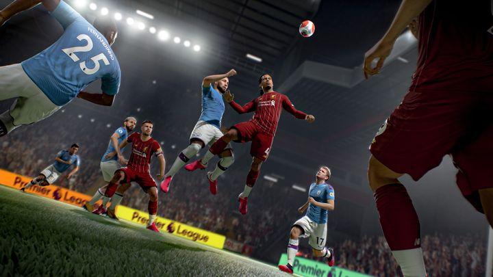 Liverpool - Manchester City dans FIFA 21