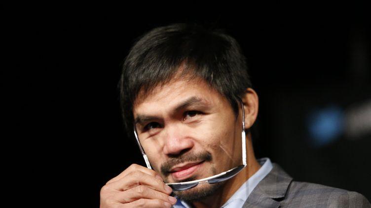 Manny Pacquiao. (KENA BETANCUR / AFP)