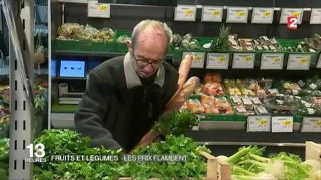 Fruits et légumes : les prix flambent
