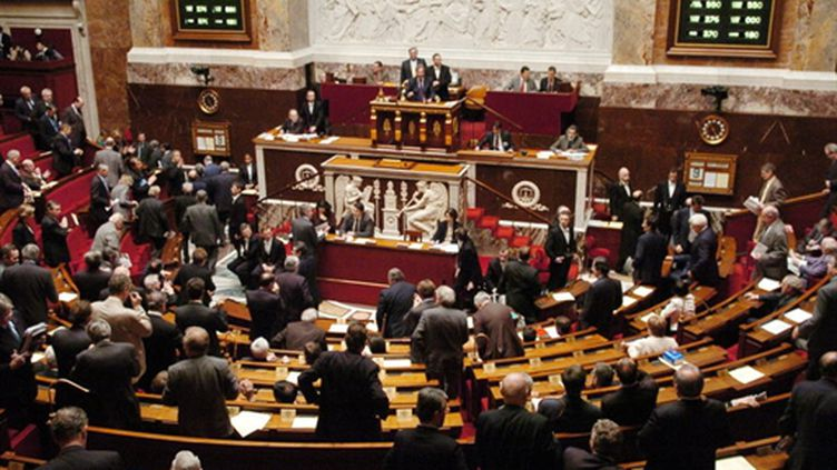 L'hémicycle de l'Assemblée nationale (photo prétexte) (AFP - Stéphane de Sakutin)