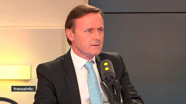 Christophe Eck,associé du cabinet Gide, le 9 mai 2018 sur franceinfo. (FRANCEINFO / RADIOFRANCE)