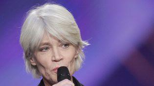 Françoise Hardy aux Victoires de la musique en 2005, où elle a reçu la Victoire de l'Artiste interprète de l'année.  (Bertrand Guay / AFP)