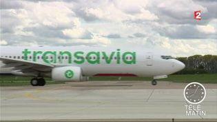 Un avion de la compagnie Transavia (FRANCE 2)