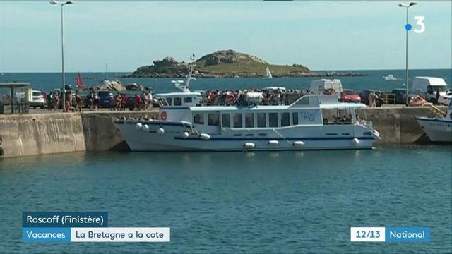 Vacances : la Bretagne a la cote