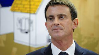 Le Premier ministre, Manuel Valls, lors de son déplacementà Nancy (Meurthe-et-Moselle), vendredi 2 décembre 2016, à l'occasion du Comité Interministériel du Handicap. (JEAN-CHRISTOPHE VERHAEGEN / POOL)