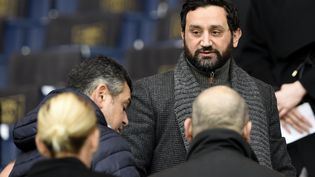 Cyril Hanouna, le 23 janvier 2016, à Paris.  (FRANCK FIFE / AFP)