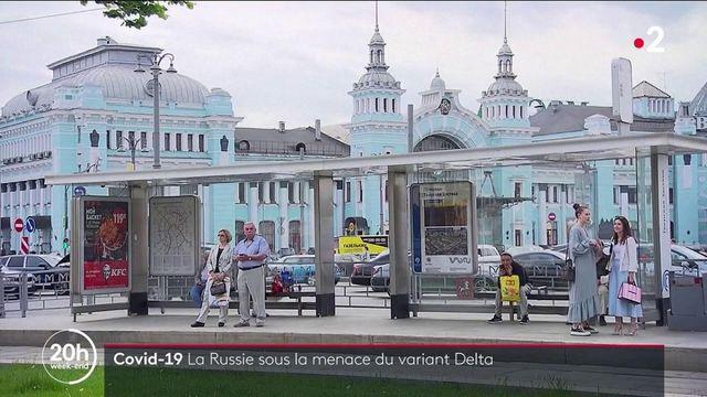 Covid : inquiétude en Russie face au variant delta