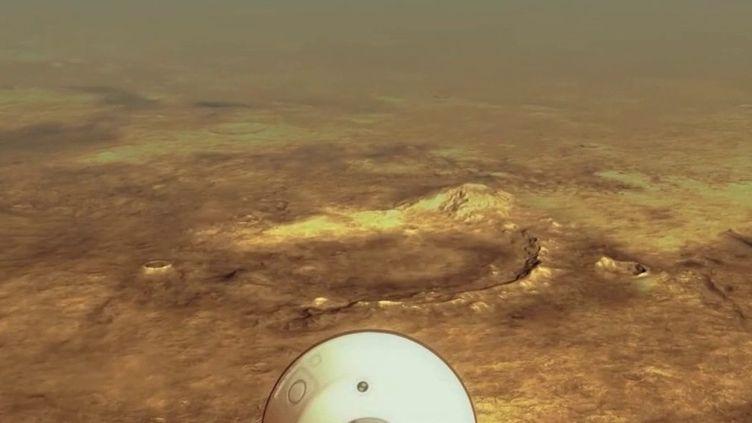 Mars : des bourrasques de vent entendues pour la première fois par l'oreille humaine (France 2)