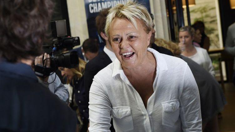 Muriel Robin en juin 2015  (LOIC VENANCE / AFP)