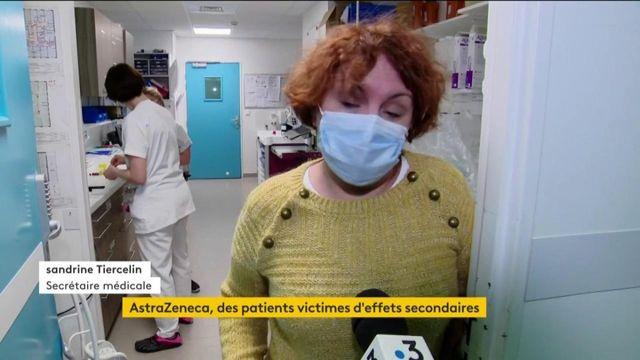 Covid-19 : des soignants font face à des effets secondaires du vaccin AstraZeneca