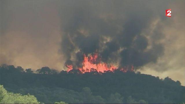 Incendie dans le Var : des milliers de personnes évacuées