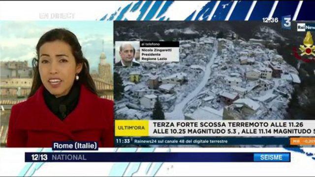 Italie : nouveau séisme dans le centre du pays
