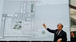 L'architecte Jean-Michel Wilmotte en janvier 2018. (PATRICK KOVARIK / AFP)