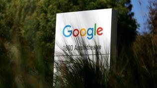 L'extérieur du siège de Google à Mountain View (Californie), le 2 septembre 2015. (JUSTIN SULLIVAN / GETTY IMAGES NORTH AMERICA)