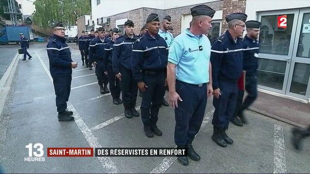 Saint-Martin : des réservistes en renfort