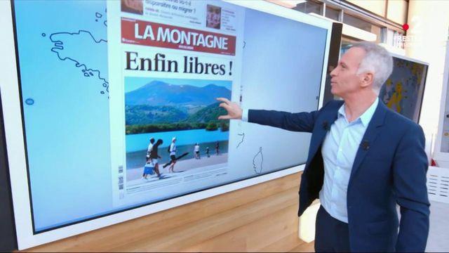 Le Kiosque à journaux : la liberté retrouvée dans les Unes de la presse régionale