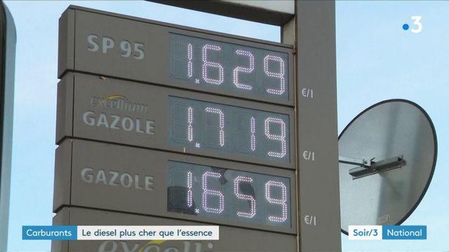 Pour la première fois, le diesel est plus cher que le sans-plomb 95