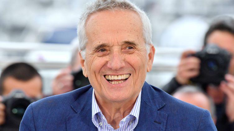 Le réalisateur italien Marco Bellocchio à Cannes, le 24 mai 2019 (ANTHONY HARVEY / REX / SIPA / SHUTTERSTOCK)