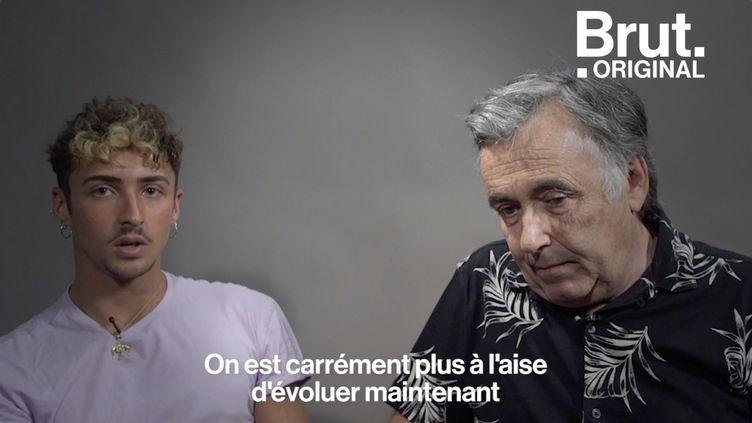 VIDEO. Francis, 66 ans, et Clément, 23 ans, discutent sur leur homosexualité (BRUT)