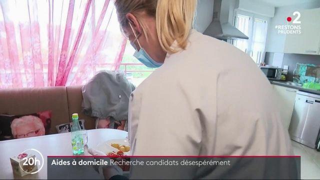 Aides à domicile : un secteur professionnel en forte demande