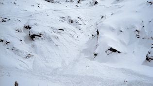 Une avalanche au Val Cenis, en Savoie, en 2009 (photo d'illustration). (JEAN-PIERRE CLATOT / AFP)