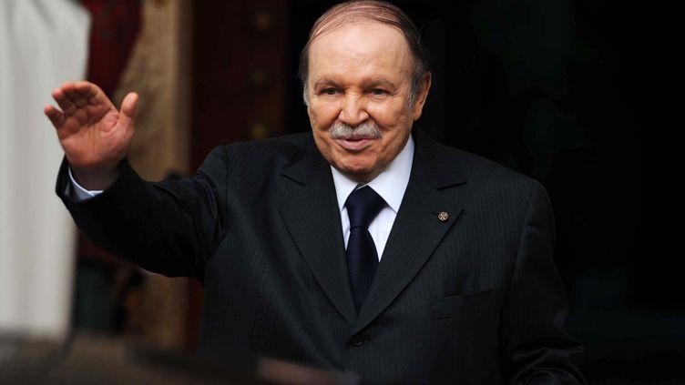 Le président algérien Abdelaziz Bouteflika à Alger (Algérie), le 14 janvier 2013. (FAROUK BATICHE / AFP)